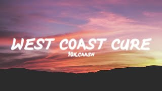 "... 🔊 stream ""west coast cure"": https://10kcaash.lnk.to/thecreator ✗ 10k.caash 🔥 » https://www.instagram.com/10k.caash/"