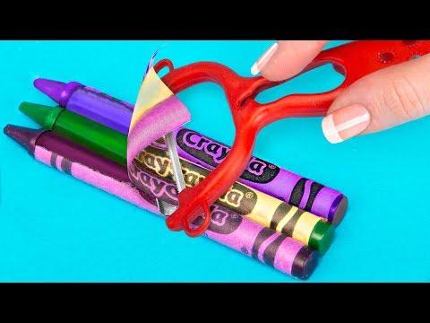 15 DIY Miniature School Supplies That Work / Mini School Supplies