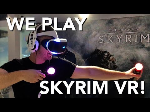 We played Skyrim VR - All you need to know!