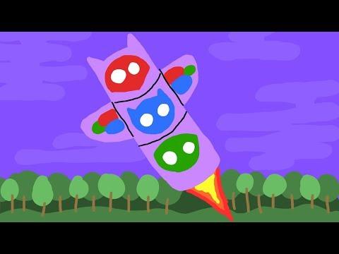 Pj mask rocket ship