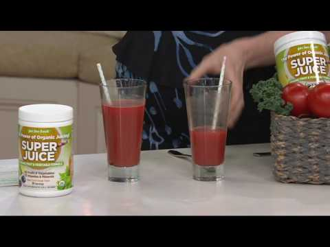 Garden Fresh Super Juice Essentials 30-Day Supply Auto-Delivery on QVC