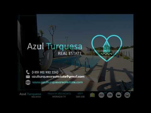 Praia de São Jacinto - Azul Turquesa Real Estate - Moradia T4 isolada com piscina