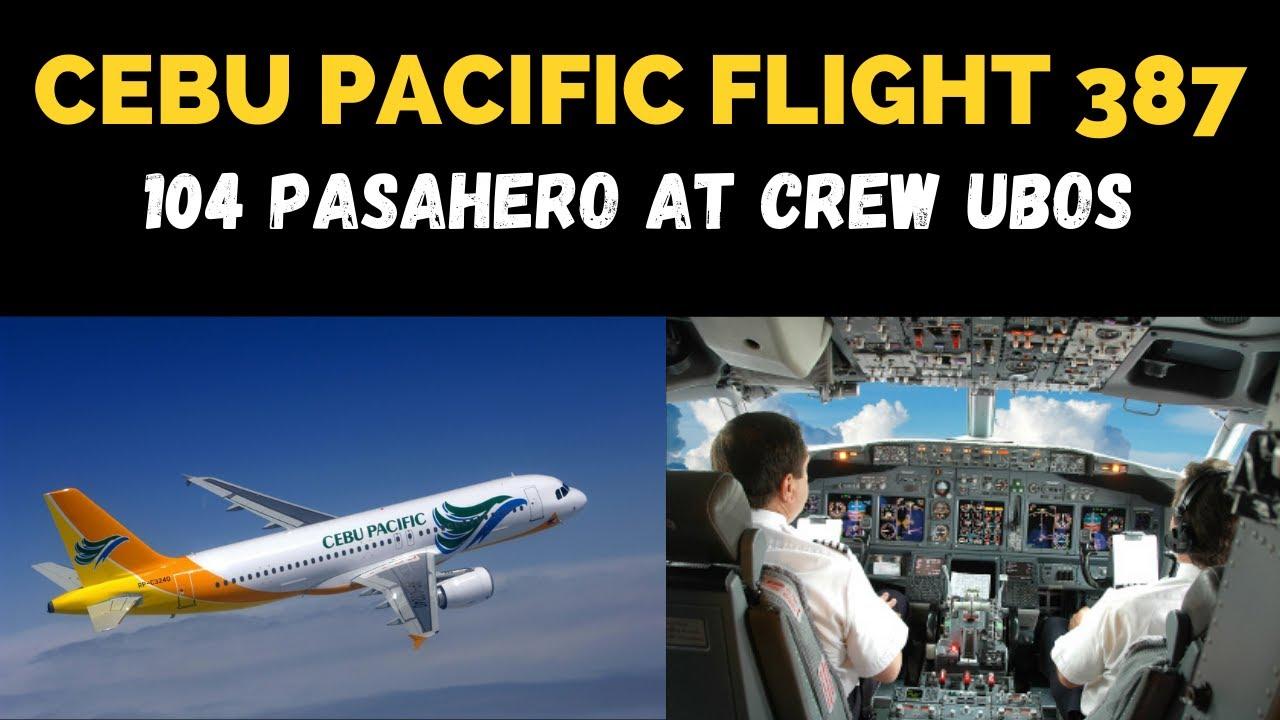 CEBU PACIFIC FLIGHT 387