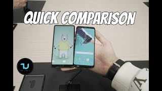 Samsung S9 vs Xiaomi Mi Mix 2 Comparison/Quick/Side by Side/Design and Look MWC 2018