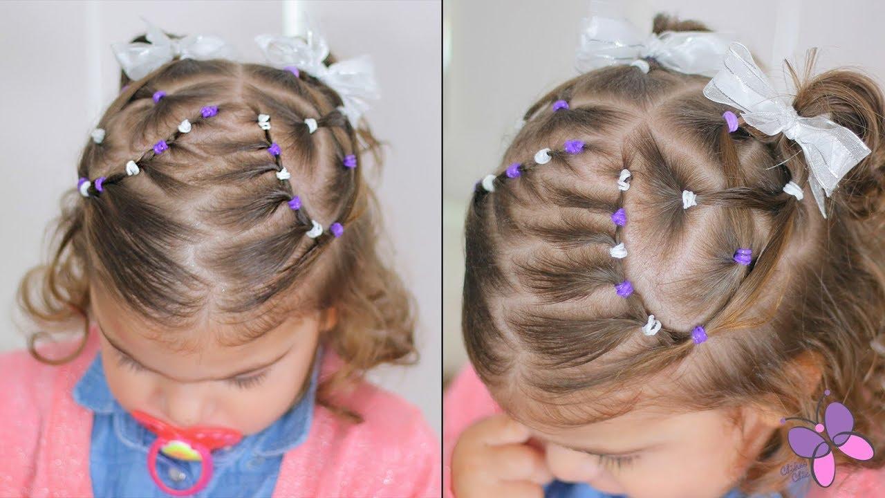 Peinados Para Bebes Con Ligas Cabello Corto Peinados Novias