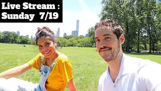 NYC Livestream-  Answering Your Questions !?