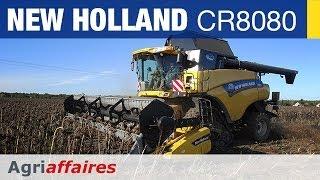 Moissonneuse Batteuse New Holland CR8080