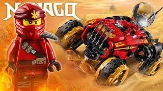 LEGO Ninjago 70675 Внедорожник Катана 4x4 видео обзор Варлорда