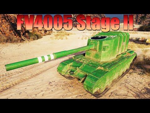 FV4005 Stage II, БОМБИТ АЭРОДРОМ, 10к УРОНА, 8 КИЛОВ