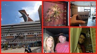 Carnival Triumph 1| Arriving in NOLA |Cambria Hotel | Boarding the Ship!