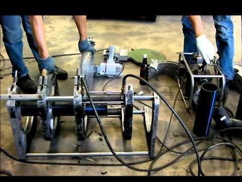 วิธีการเชื่อมท่อ HDPE ด้วยความร้อน