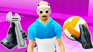 I THINK I JUST KILLED A MAN with A WRENCH in Dodgeball Simulator VR