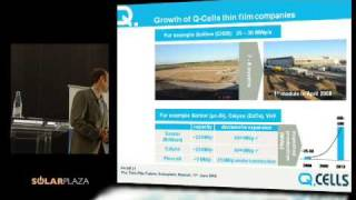 George Hanna (Q-cells) - The Thin Film Future 2008 - part 2/3