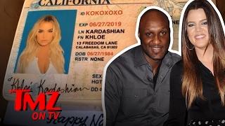 Khloe Kardashian Drops Odom and Is Just A Kardashian Again   TMZ TV
