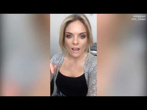 Erin Molan posts video before and after 'glam' for The Footy Show
