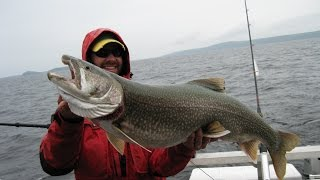 JigHeads - Trolling Giant Lake Trout with the Strike Saver release system (Part 1)