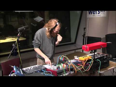 Hermigervill LIVE on WERS 2014