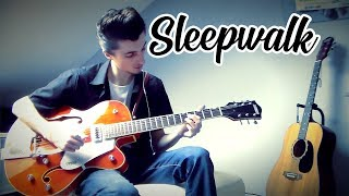 Sleepwalk guitar cover