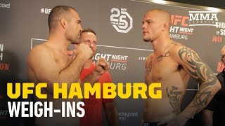 UFC Hamburg Official Weigh-In Highlights - MMA Fighting