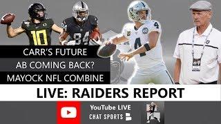 Download Raiders Rumors, Derek Carr Latest, Sign Tom Brady & Antonio Brown? 2020 NFL Combine, Mike Mayock Mp3 and Videos