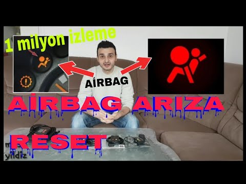 airbag problemi arıza nasıl söndürülür. réparé problème voyant airbag reset suprime elm327 BECERI TV - Смешные видео приколы