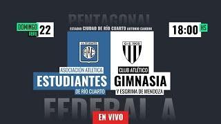 #IFEnTuCancha | Federal A Pentagonal 5ta Fecha | Estudiantes Rio IV vs Gimnasia (M)