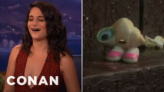 "Jenny Slate Sings ""Landslide"" As Marcel The Shell  - CONAN on TBS"