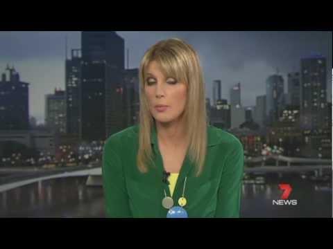 Brisbane Supercell Thunderstorm November 17th 2012 - 7News