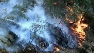 További lakóházakat fenyeget az észak-kaliforniai erdőtűz