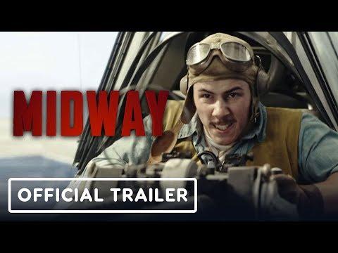 Midway Official Trailer (2019) Ed Skrein, Mandy Moore, Nick Jonas, Woody Harrelson