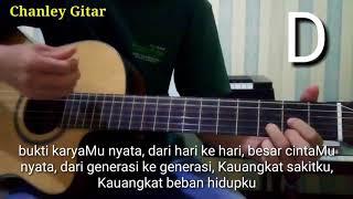 belajar gitar - Tuhan Yesus sungguh baik