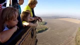 видео полет на воздушном шаре краснодар