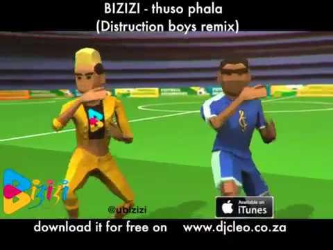 bizizi - thuso phala (distruction boys remix) ft. dj buckz, stilo magolide and dj cleo