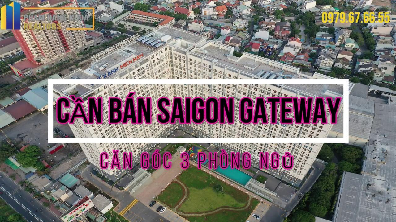 [ CẦN BÁN ] SAIGON GATEWAY CĂN GÓC 3PN 2WC  90,78m2