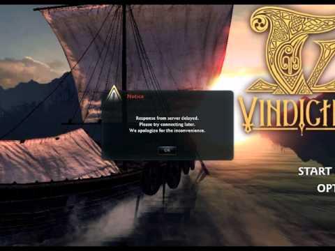 Vindictus Open Beta 2010 Official log in screen!!!!!!!!!!