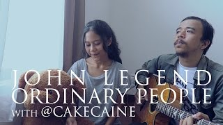 John Legend - Ordinary People (Live Acoustic Cover) with Nadin
