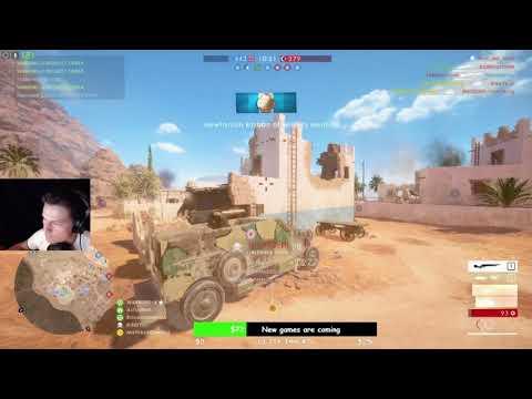 Battlefield 1 - AA Artillery truck and Attack plane