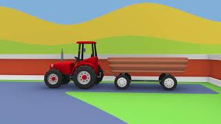 Tractor For Kids | Tractors And Other Fairy Tales | Formation And Uses