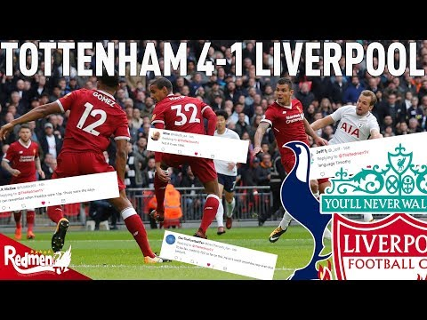 Spurs v Liverpool 41  Twitter Reactions