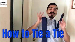 How To Tie Neckties