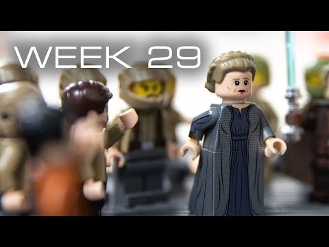 Building Crait in LEGO - Week 29:...