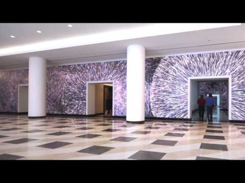 Washington DC, Terrell Place Multimedia Lobby Experience