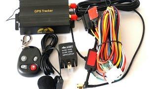 обзор трекера GPS 103В. (Часть 1)