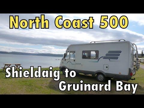North Coast 500 : Shieldaig to Gruinard Bay