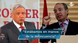 El Presidente afirmó que luego del juicio a García Luna sí se puede hablar de que hubo un narcoestado