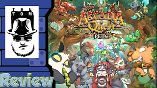 Tom Vasel takes a look at Arcadia Quest Pets, an expansion for the ...