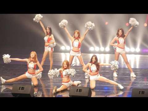 160715 롯데 자이언츠 치어리더 (Lotte Giants Cheerleader) 부산 벡스코 박기량 자선 치어콘서트 공연 직캠