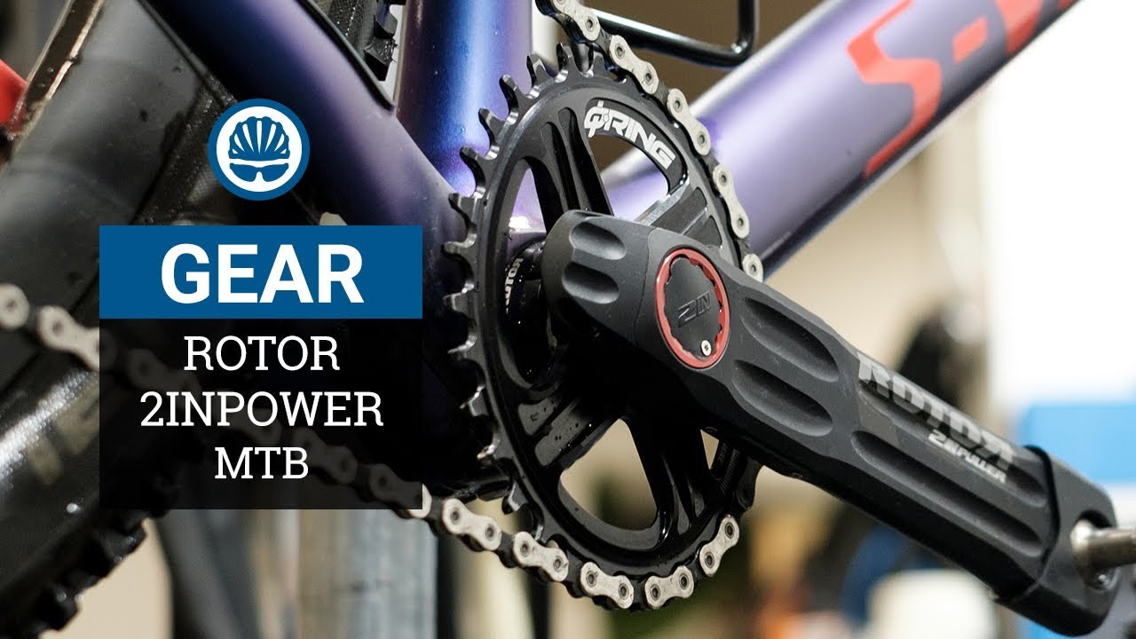 0f568496e63 ROTOR 2INpower - World's First True Dual-Sided MTB Power Meter - YouTube