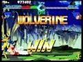 X-Men VS. Street Fighter (Sega Saturn) Arcade Mode as Wolverine/Ryu