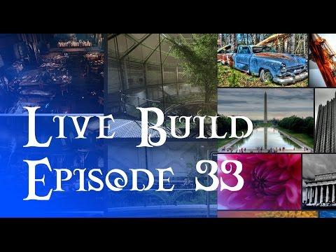 Live Build 33 - Encouragement, Jobs, Port Folio Session